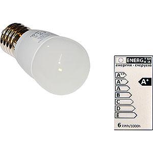 Advent Stars and Moravian Christmas Stars Accessories LED Light Bulb E27, 6 Watt
