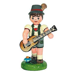 Kleine Figuren & Miniaturen Hubrig Lampionkinder Lampionkind Junge mit Gitarre - 8 cm