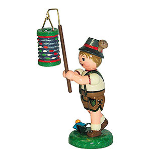 Kleine Figuren & Miniaturen Hubrig Lampionkinder Lampionkind Junge mit Lampion - 8cm