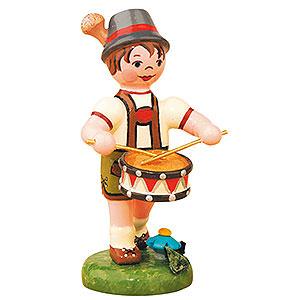 Kleine Figuren & Miniaturen Hubrig Lampionkinder Lampionkind Junge mit Trommel - 8 cm