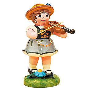 Kleine Figuren & Miniaturen Hubrig Lampionkinder Lampionkind Mädchen mit Geige - 8cm
