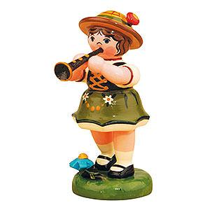Kleine Figuren & Miniaturen Hubrig Lampionkinder Lampionkind Mädchen mit Klarinette - 8cm