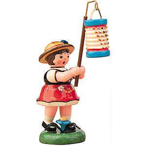 Kleine Figuren & Miniaturen Hubrig Lampionkinder Lampionkind Mädchen mit Lampion - 8 cm