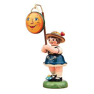 Kleine Figuren & Miniaturen Hubrig Lampionkinder Lampionkind Mädchen mit Mond - 8cm