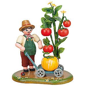 Kleine Figuren & Miniaturen Hubrig Vier Jahreszeiten Landidyll Gartenfreuden - 11 x 9 cm