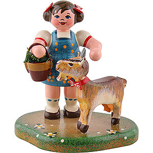 Kleine Figuren & Miniaturen Hubrig Vier Jahreszeiten Landidyll Hannas Liebling - 6cm