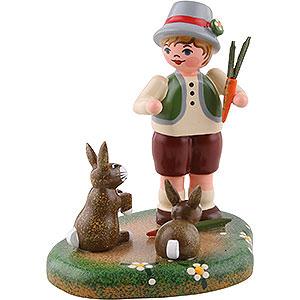 Kleine Figuren & Miniaturen Hubrig Vier Jahreszeiten Landidyll Paulchens Langohren - 6cm