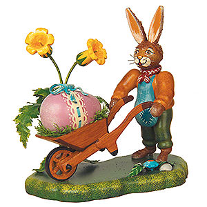 Kleine Figuren & Miniaturen Tiere Hasen Langohr's schönstes Osterei - 10cm