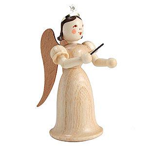 Weihnachtsengel Langrockengel (Blank) Langrockengel Dirigent, natur - 6,6cm