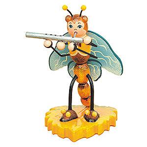 Kleine Figuren & Miniaturen Tiere Käfer Libelle mit Querflöte - 8 cm
