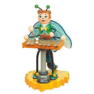 Kleine Figuren & Miniaturen Tiere Käfer Libelle mit Xylophon - 8cm