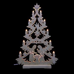 Lichterwelt Lichterspitzen Lichterspitze - Christbaum - 70 x 46 x 5,5 cm