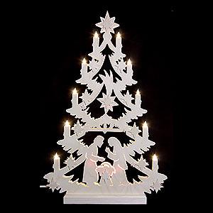 Lichterwelt Lichterspitzen Lichterspitze - Weihnachtsbaum - 60x40x5,5cm