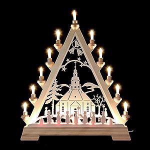 World of Light Light Triangles Light Triangle -  Church of Seiffen - 56 cm/22 inch