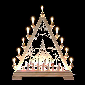 World of Light Light Triangles Light Triangle - Little Church of Seiffen