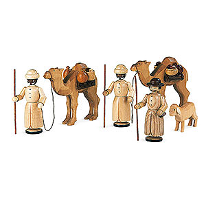 Small Figures & Ornaments Nativity Scenes Manger-figurines - Camel caravan - 13 cm / 5 inch