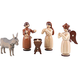 Small Figures & Ornaments Manger-Figurines (Müller) Manger-figurines - Holy family - 13 cm / 5 inch