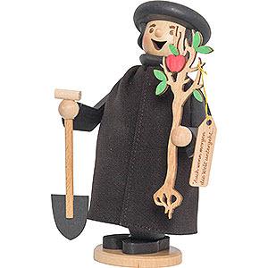 Räuchermänner Bekannte Personen Martin Luther mit Apfelbaum - 17 cm