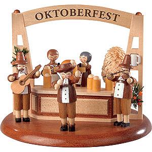 Spieldosen Alle Spieldosen Motivplattform für elektr. Spieldose - Oktoberfest - 13cm