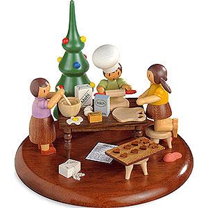 Spieldosen Alle Spieldosen Motivplattform für elektr. Spieldose - Weihnachtsbäckerei - Rolf Zuckowski Edition - 13cm