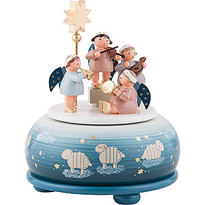 Music Boxes Christmas Music Box Angels Concert - 16 cm / 6 inch