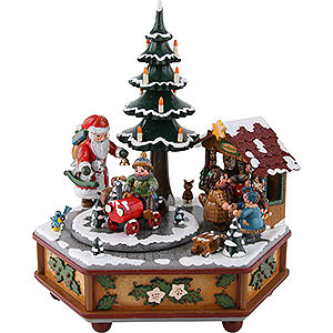 Music Boxes Christmas Music Box Christmas - 22cm / 9inch