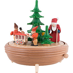 Music Boxes Christmas Music Box Christmas Workshop - 18 cm / 7.1 inch