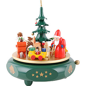 Music Boxes Christmas Music Box Christmas dreams - 7 inch - 17 cm