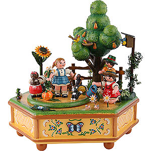Music Boxes Seasons Music Box Our little garden - 20cm / 8inch