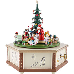 Music Boxes Christmas Music Box The Giving - 9 inch - 24 cm