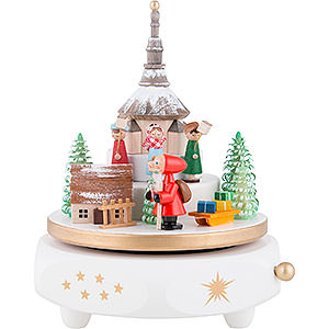 Music Boxes Christmas Music box miner's service of Seiffen - 17cm / 6.7inch