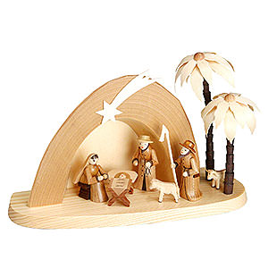 Small Figures & Ornaments Nativity Scenes Nativity Set - Grotto - 15 cm  / 6 inch