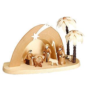 Small Figures & Ornaments Nativity Scenes Nativity Set - Grotto - 15 cm  / 6 inches