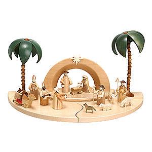 Small Figures & Ornaments Nativity Scenes Nativity Set - Natural Colour