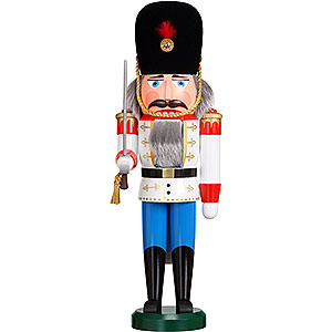 Nussknacker Soldaten Nussknacker Däne weiß - 39cm