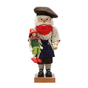 Nussknacker Bekannte Personen Nussknacker - Geppetto Limitiert - 44,5cm