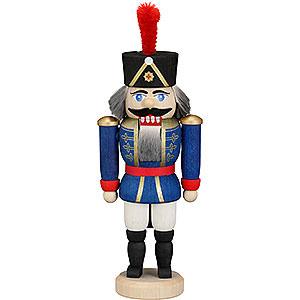 Nussknacker Soldaten Nussknacker Husar blau - 15 cm