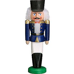 Nussknacker Soldaten Nussknacker Husar blau - 9cm