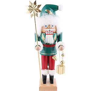 Nussknacker Weihnachtsmänner Nussknacker Irischer Weihnachtsmann -29cm