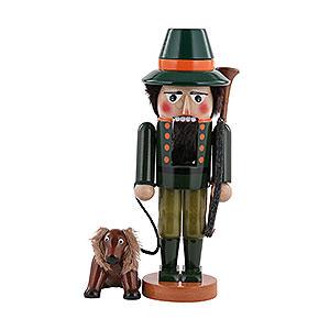 Nussknacker Berufe Nussknacker Jäger mit Hund - 35cm