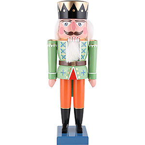 Nussknacker Könige Nussknacker König grün - 35cm