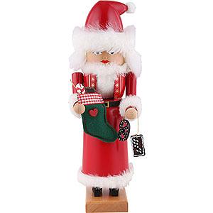 Nussknacker Weihnachtsmänner Nussknacker Mrs. Santa - 29cm