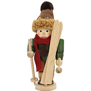 Nussknacker Hobbies Nussknacker Skifahrer lasiert - 18 cm