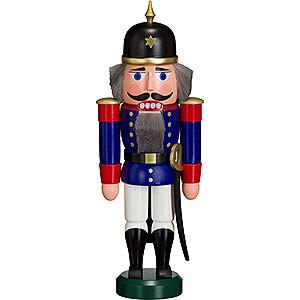 Nussknacker Soldaten Nussknacker Soldat blau - 27 cm