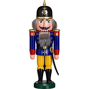 Nussknacker Soldaten Nussknacker Soldat blau - 36 cm
