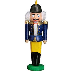 Nussknacker Soldaten Nussknacker Soldat blau - 9 cm