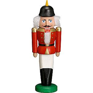 Nussknacker Soldaten Nussknacker Soldat rot - 9 cm