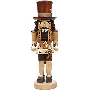 Nussknacker Berufe Nussknacker Spielzeughändler natur - 40,5 cm