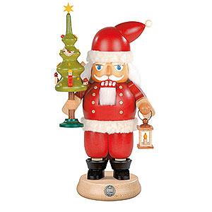 Nussknacker Weihnachtsmänner Nussknacker Weihnachtsmann mit Baum - 23 cm