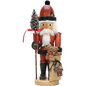 Nussknacker Weihnachtsmänner Nussknacker Weihnachtsmann mit Teddy - 44,5 cm